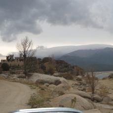 Castillo Avila vista llegada