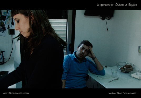 Secuencia en la que Ana discute con su marido Roberto