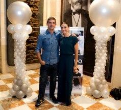 Angel L. Sanchez y Estela Mora