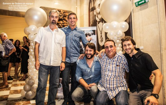 Photocall estreno Quiero un equipo
