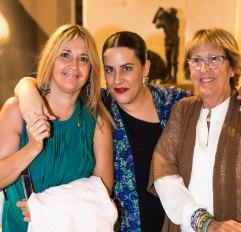 Las chicas de Madrid con Aída